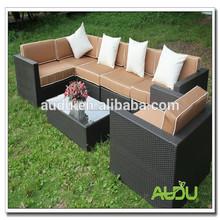 Audu venta al por mayor exterior sofá / de la rota del jardín venta al por mayor exterior