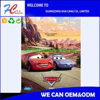 3d Racing car 4c printing poster