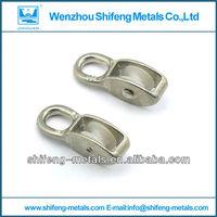 European Type Single nylon wheel pulleys with fixed eye