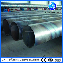 Chinese manufacturer x42 x52 astm a53 spiral carbon steel pipe for fluid air gas manufacturer from china made in China