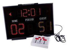 LEAP Basketball scoreboard for basketball game