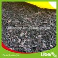 Al aire libre forro de goma comercial alfombras azulejos de piso de le. Xj. 004