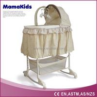 2015 high quanlity modern design bassinet bassinet wicker baby basket