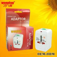 2012 cheap/fashionable/promotional gift/compact universal world travel power charger for business man