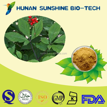 Dried herbal ginseng extract 80% ginsenosides Powder for enhance sex function application