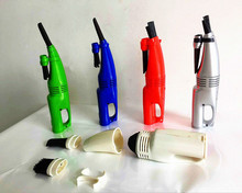 ABS Made 3V Bagless Battery Powered Portable Mini Vacuum Cleaner