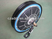 "CE-approved 48v1000w 16"" brushless electric hub wheel motor"