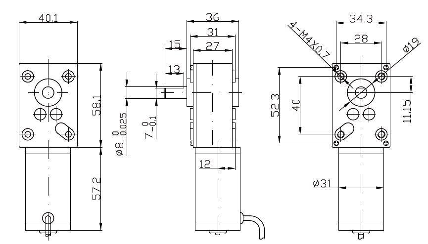 Dsd motor the dc gear motor expert dc gear motors dc for Dc gear motor specifications