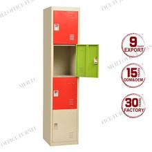 Large storage vertical door steel lockers closet metal portable wardrobe