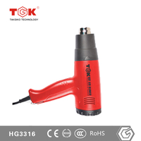 takgiko Power Tools Heat Gun for Drying Embossing Powder