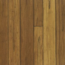 Outdoor carbonized color strand woven bamboo decking