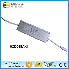 Competitive price 24-48 volts 1000mA 3 year warranty isolated 50w led driver with aluminum cover