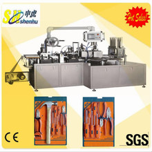 automatic paper plastic blister packing machine for hand tools