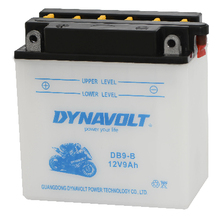 Dynavolt DB9-B mf dry charge battery 12v9ah dry battery for motorcycle