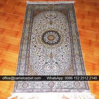 handmade decor silk carpet american indian tribe