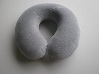 Neck Pillow KW001 100% Polyurethane Visco Elastic Memory Foam Travel Pillow