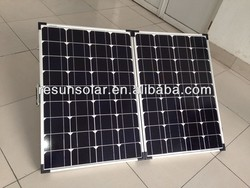 Poly and Monocrystalline Silicon Material folding solar panel