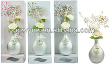 bamboo pole/ aroma diffuser 70ml with scents flower