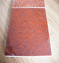 standard red granite paving with popular size