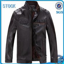 Latest design leather jacket,fashion leather jacket,men pu jacket