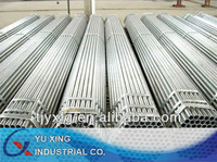 building material/hollow tube/metal/Structure large diameter fence thin wall Q195 T