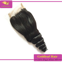 Shopping online websites for 4*4 inch high quality virgin malaysian dark brown lace closure