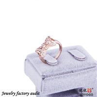 2014 Alloy Rings Wholesale Cheap Rhinestones Cute Finger Ring