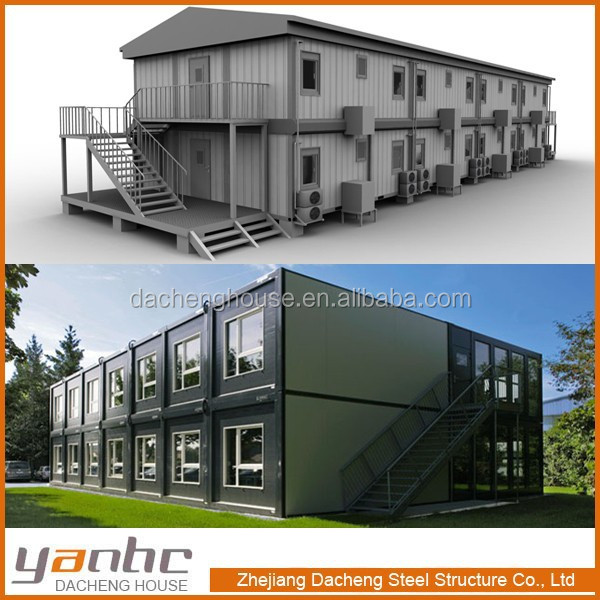 Modular Container Hotel Prefabricated From Zhejiang