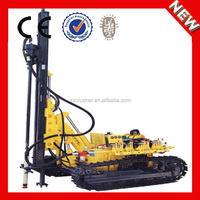 China High Professional Pneumatic and Hydraulic Type Crawler Drill for Selling