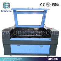 Unich LXJ1390 80w 100w 130w 150w 180w co2 laser cutting machine/laser crystal machine