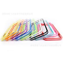 Soft tpu bumper for iphone 6 ,hard pc bumper case for iphone 6 plus