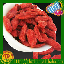 GMP high quality dried goji berry/wolf berry from China