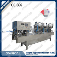 china cheap price plastic cup filling sealing machine