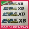 Label printing provide customized color accepted sticker