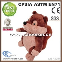 Plush toys OEM red squirrel soft toy with fast shipping
