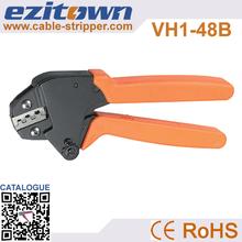 Capacidad de prensa 0.5- 1.5mm2 de ahorro de energía mini terminal herramientas que prensan