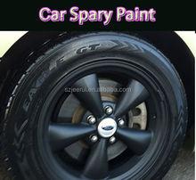 2015 Hot rubber Coating Spray Paint flexible stretchable Matt Black coating spray dip waterproof UV proof plastic bottle acrylic