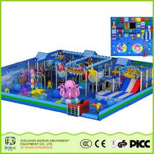 New and Luxury Naughty Castle Ocean Series ODM Indoor Play Park