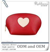 Cheap Mini Cosmetic Bag with heart pattern