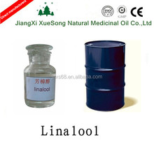 Factory supply natural 96% linalool bulk sale with best price CAS 78-70-6