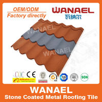 Wanael stone coated roof tile/guangzhou construction materials/concrete roof heat insulation