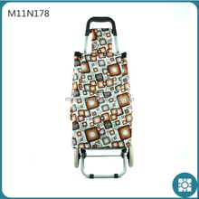 Foldable Grocery Shopping Bag with Wheels Bags Trolley Shopping
