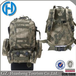 Military Assault Paintball gear Army Backpack with detachable pouches
