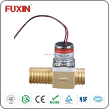 brass water valve flow control 6v pulse electric power water valve 1/2 inch fitting