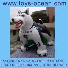 advertising inflatable dog/inflatable dog decoration/outdoor dog decoration