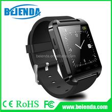U8 Outdoor Sport Nano Smart Bluetooth V3.0 Android Wrist Watch w/ Remote Shutter / Pedometer - Black