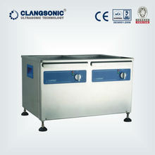 Double Tank high power ultrasonic cleaner/industrial washing machine prices/ultrasound equipment