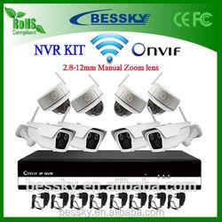 8CH WIFI NVR Kit,cms ip camera software,support gsm,cheap wireless hidden camera