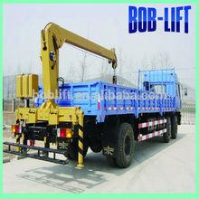 4 toneladas de china levante hidráulico de la grúa del carro de ventas con el mejor camión de transporte de servicio