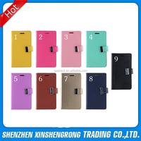 "For iPhone 6 Mercury Leather Case, Diary Mercury Leather Case Pouch for iPhone 6 4.7"""
